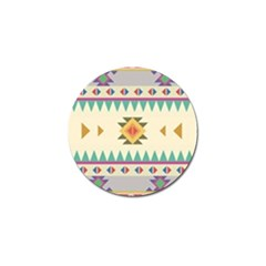 Your First Aztec Pattern Golf Ball Marker (10 Pack) by Jojostore