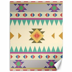 Your First Aztec Pattern Canvas 36  X 48