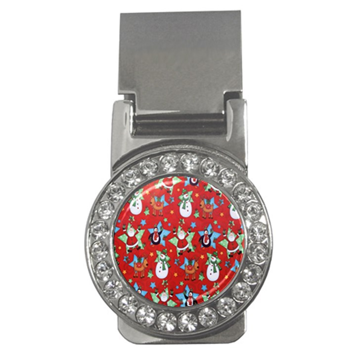 Xmas Santa Clause Money Clips (CZ)