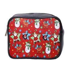 Xmas Santa Clause Mini Toiletries Bag 2 Side
