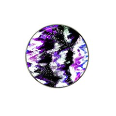 Abstract Canvas Acrylic Digital Design Hat Clip Ball Marker by Amaryn4rt