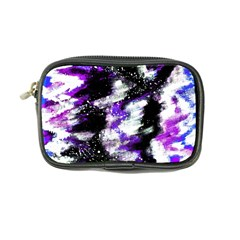 Abstract Canvas Acrylic Digital Design Coin Purse
