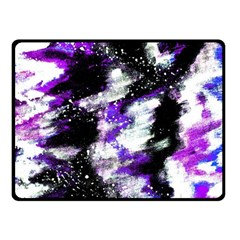 Abstract Canvas Acrylic Digital Design Fleece Blanket (small) by Amaryn4rt