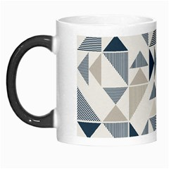 Geometric Triangle Modern Mosaic Morph Mugs by Amaryn4rt