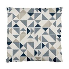 Geometric Triangle Modern Mosaic Standard Cushion Case (one Side) by Amaryn4rt