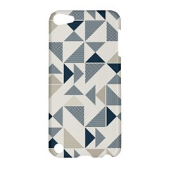 Geometric Triangle Modern Mosaic Apple Ipod Touch 5 Hardshell Case by Amaryn4rt