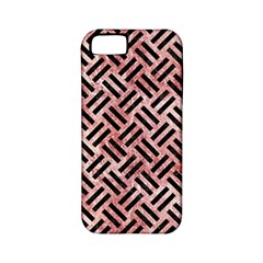 Woven2 Black Marble & Red & White Marble (r) Apple Iphone 5 Classic Hardshell Case (pc+silicone) by trendistuff