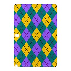 Texture Background Argyle Teal Samsung Galaxy Tab Pro 10 1 Hardshell Case