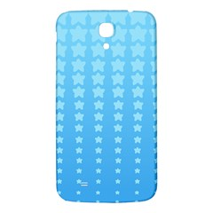 Blue Stars Background Samsung Galaxy Mega I9200 Hardshell Back Case by Jojostore