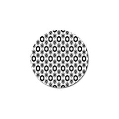 Background Pattern Golf Ball Marker by Jojostore