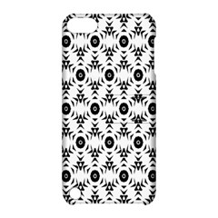 Black White Flower Apple Ipod Touch 5 Hardshell Case With Stand by Jojostore