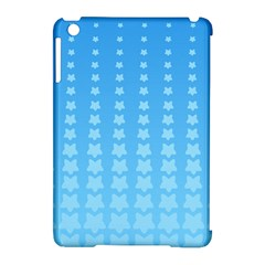 Blue Stars Background Line Apple Ipad Mini Hardshell Case (compatible With Smart Cover) by Jojostore