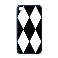Chevron Black Copy Apple Iphone 4 Case (black) by Jojostore