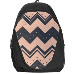 Chevron Ideas Gray Colors Combination Backpack Bag by Jojostore