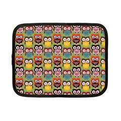 Eye Owl Colorful Cute Animals Bird Copy Netbook Case (small)