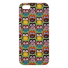 Eye Owl Colorful Cute Animals Bird Copy Apple Iphone 5 Premium Hardshell Case