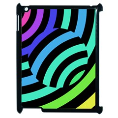 Colorful Roulette Ball Apple Ipad 2 Case (black)