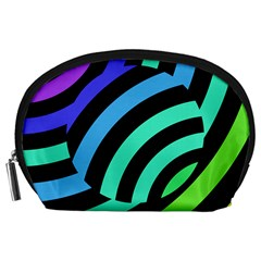 Colorful Roulette Ball Accessory Pouches (large)  by Jojostore