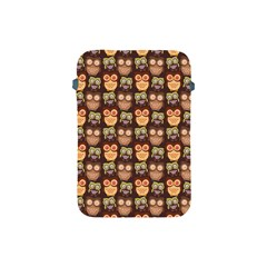Eye Owl Line Brown Copy Apple Ipad Mini Protective Soft Cases by Jojostore