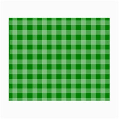 Gingham Background Fabric Texture Small Glasses Cloth