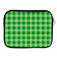 Gingham Background Fabric Texture Apple Ipad 2/3/4 Zipper Cases by Jojostore