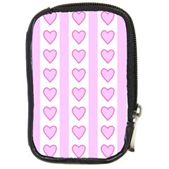 Heart Pink Valentine Day Compact Camera Cases by Jojostore