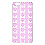 Heart Pink Valentine Day iPhone 6 Plus/6S Plus TPU Case Front