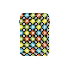 Diamond Argyle Pattern Flower Apple Ipad Mini Protective Soft Cases
