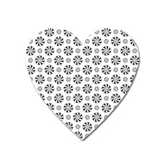 Holidaycandy Overlay Heart Magnet by Jojostore