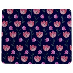 Flower Tulip Floral Pink Blue Jigsaw Puzzle Photo Stand (rectangular) by Jojostore