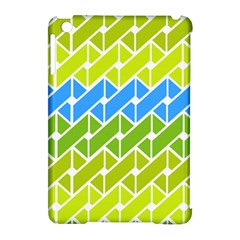 Link Pattern Apple Ipad Mini Hardshell Case (compatible With Smart Cover)