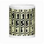 Line Black Night Luminous Mugs Center
