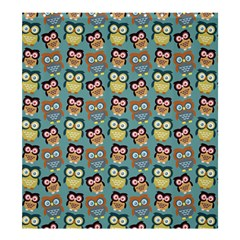 Owl Eye Blue Bird Copy Shower Curtain 66  X 72  (large)  by Jojostore