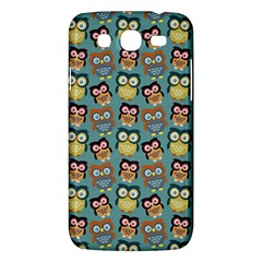 Owl Eye Blue Bird Copy Samsung Galaxy Mega 5 8 I9152 Hardshell Case  by Jojostore