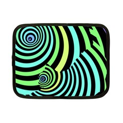 Optical Illusions Checkered Basic Optical Bending Pictures Cat Netbook Case (small)