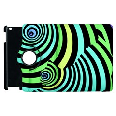 Optical Illusions Checkered Basic Optical Bending Pictures Cat Apple Ipad 2 Flip 360 Case by Jojostore