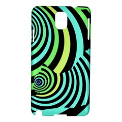 Optical Illusions Checkered Basic Optical Bending Pictures Cat Samsung Galaxy Note 3 N9005 Hardshell Case by Jojostore