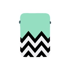 Mint Green Chevron Apple Ipad Mini Protective Soft Cases