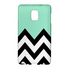 Mint Green Chevron Galaxy Note Edge by Jojostore