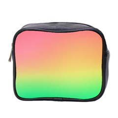 The Walls Pink Green Yellow Mini Toiletries Bag 2-side