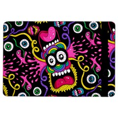 Monster Face Mask Patten Cartoons Ipad Air 2 Flip