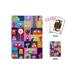 Monster Quilt Playing Cards (mini)