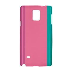 Pink Blue Three Color Samsung Galaxy Note 4 Hardshell Case