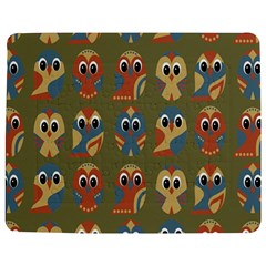 Owl Pattern Illustrator Jigsaw Puzzle Photo Stand (rectangular)