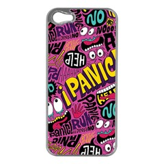 Panic Pattern Apple Iphone 5 Case (silver)