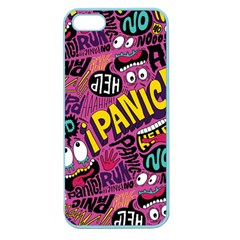 Panic Pattern Apple Seamless Iphone 5 Case (color)