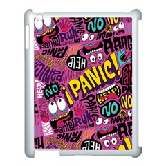 Panic Pattern Apple Ipad 3/4 Case (white)