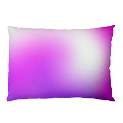 Purple White Background Bright Spots Pillow Case (two Sides) by Jojostore