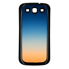 Rainbow Blue Orange Purple Samsung Galaxy S3 Back Case (black)