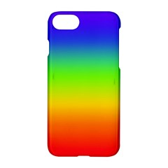 Rainbow Blue Green Pink Orange Apple Iphone 7 Hardshell Case by Jojostore